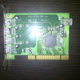 Adaptor interfata PC - Adaptor PCI la USB cu 5 porturi