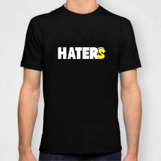 Tricou cadou Hip hop gang SPIKE HATER S music club dope - Tricou barbati, Marime: S, M, L, XL, Culoare: Alb, Negru