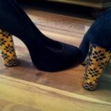 Pantofi dama Asos, Marime: 39, Negru - Pantofi ASOS