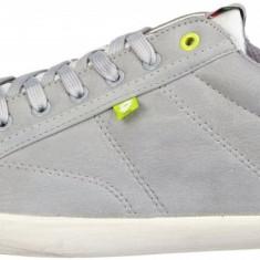 Adidasi originali Lotto - adidasi sport - tenisi barbati - piele - in cutie - 45, Culoare: Gri, Piele sintetica