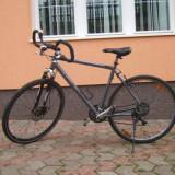 Mountain Bike Nespecificat, 28 inch, Numar viteze: 24, Aluminiu, Gri, Discuri - Bicicleta MTB Strato de aluminiu roti 28