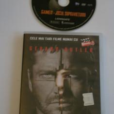 Gamer - Jocul supravietuirii - cu Gerard Butler - film DVD - Film thriller, Romana