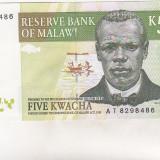 Bnk bn malawi 5 kwancha 1997 necirculata
