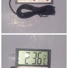 Termometru Auto - Termometru digital si ceas