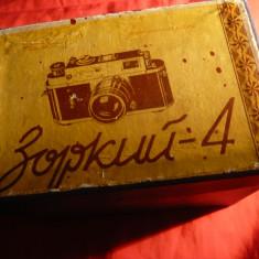 Cutie carton si panza- pt. Aparat Foto Zorki 4 URSS - Echipament Foto Studio