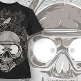 Tricou personalizat Craniu Scafandru printeo