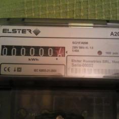 Tablou electric - Contor monofazat Elster A200