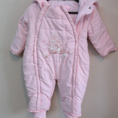 Haine Copii 6 - 12 luni - Combinezon fas bebe / salopeta de iarna 6 luni
