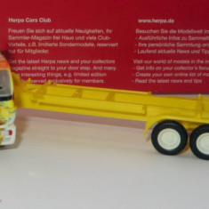 Herpa Mercedes SK platforma transport container 20