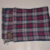 Fular/esarfa Armani Double Plaid Scarf