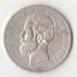 Moneda din argint - 5 Lei 1883 - Carol I - Moneda Romania