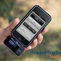 Accesorii portabile Griffin iTrip APP Controller pentru iPhone / iPod la cutie