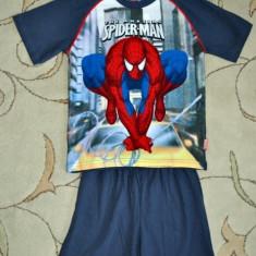 Noua! Pijama Spiderman f cool bleumarin, marca Marvel, baieti 8 ani/ 126 cm, Culoare: Multicolor