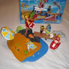 Playmobil 3664 - Plaja cu salvamar (4 ani+) - Jocuri Seturi constructie