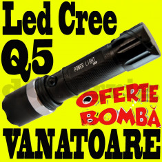 Lanterna Led CREE Zoom