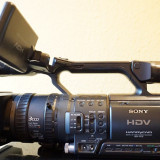 Camera video SONY FX1-E High definition, Mini DV, CCD, 10-20x, 3 - 4