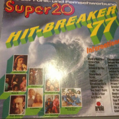HIT BREACKER '77- SELECTIE boney'm, carpenters.. (1977 /ARIOLA REC / RFG) - VINIL - Muzica Rock