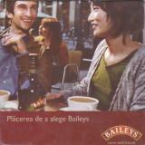 Cartonas de colectie - Suport de pahar / Biscuite BAILEYS