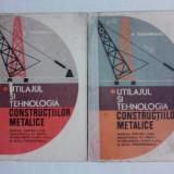 Utilajul si tehnologia constructiilor metalice - D. Teodorescu (Clasele XI - XII) / R2P4F - Carti Constructii