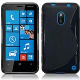 Husa TPU S-LINE Nokia Lumia 620 Black
