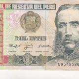 bnk bn peru 1000 intis 1988 vf