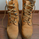 Bocanci militari din piele intoarsa - Bocanci barbati, Marime: 42, Culoare: Din imagine