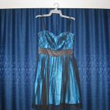 Rochie de ocazie marimea 42 - Rochie de seara, Culoare: Albastru