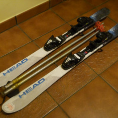 Schiuri HEAD 105 cm semicarv si bete de 85 cm SCOTT. Folosite. In stare buna. - Set ski