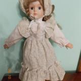 Papusa veche de portelan - 40 cm - Papusa de colectie