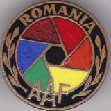 Insigna Romania AAF Asociatia Administratorilor de Fonduri