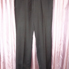 Pantaloni stofa, Hugo Boss, 100% originali - Pantaloni barbati Hugo Boss, Marime: L, Culoare: Din imagine, L, Lungi