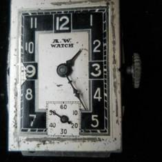 Vechi Ceas Mecanic A.W. Watch Elvetia - Ceas de mana
