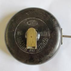 RULETA PANZA(TOPO) 10 METRI IN CARCASA DE EBONITA MADE IN CHINA ANII 60