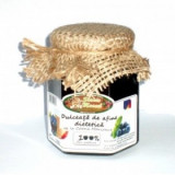 Dulceata de afine dietetica cu suc de mere, 300 ml Slanic Muscel