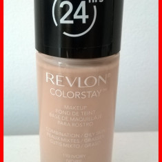 Revlon COLORSTAY - ten mixt / gras / oily - 110 IVORY - Fond de ten