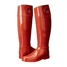 Boots femei Armani Jeans RJ Rain Boot With Crystal | 100% originals | Livrare cca 10 zile lucratoare | Aducem pe comanda orice produs din SUA - Cizme dama