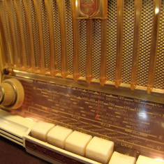 Radio vintage/lampi = PHILIPS - Philetta = Bakelite Beauty aus '59-SIGILAT!!*SOLD* - Aparat radio