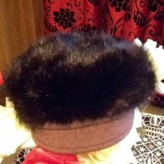Sapca din blana - Caciula Dama
