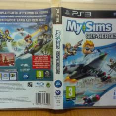My Sims - Skyheroes (PS3) (ALVio) + sute de Jocuri PS3 Ea Games (VAND / SCHIMB), Actiune, 3+