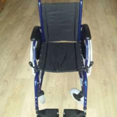 Carucior Persoane Cu Dizabilitati - Scaun cu rotile