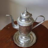 Metal/Fonta - Set alpaca argintata