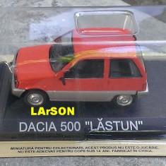 Macheta auto, 1:43 - Macheta metal DeAgostini Dacia 500 LASTUN Noua+revista Masini de Legenda 35