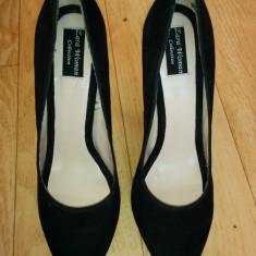 Pantofi ZARA marimea 39, arata ca noi! - Pantof dama Zara, Culoare: Negru, Negru