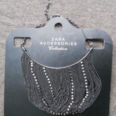 Colier fashion - Colier lant statement ZARA Nou _pret magazin 120 ron!