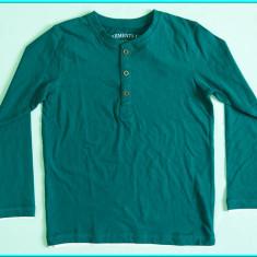 NOUA, DE FIRMA _ Bluza bumbac, marca ZARA _ baieti   5 - 6 ani   116 cm, Culoare: Verde
