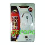 Mouse optic, fara fir (2.4GHz), 3 butoane, 1000 dpi, interfata USB/01041