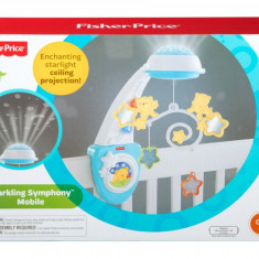 Mobil Fisher Price - Lampa veghe copii Fisher Price, Alb
