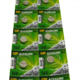 Blister 10 buc. Baterii Alcaline GP pentru Ceasuri AG1, LR621 - Baterie Ceas
