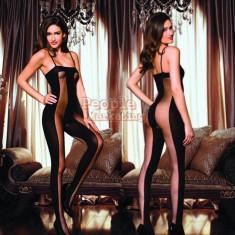 Lenjerie dama Catsuit Bodystocking salopeta sexy model special - Lenjerie sexy dama, Culoare: Din imagine, Marime: Marime universala