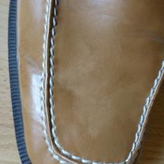 Pantofi de gala Caruso Moda Uomo din piele naturala, cusuti manual; marime 43 - Pantofi barbati, Culoare: Din imagine